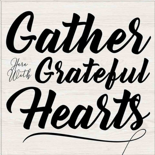 Gather, Grateful, Hearts