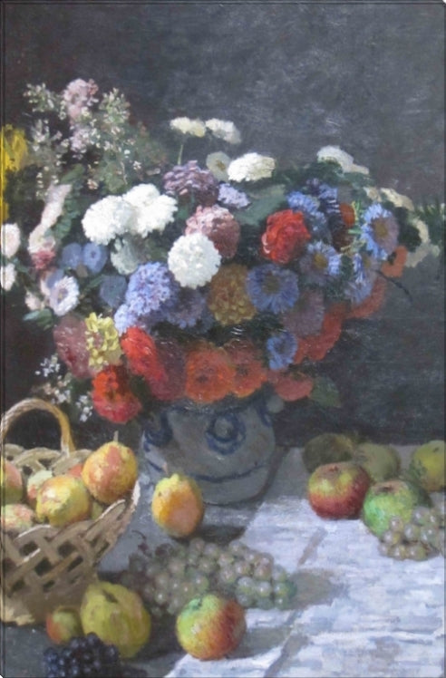 Still Life wit Flowers and Fruit