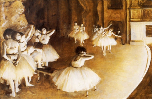 The Ballet Rehearsal
