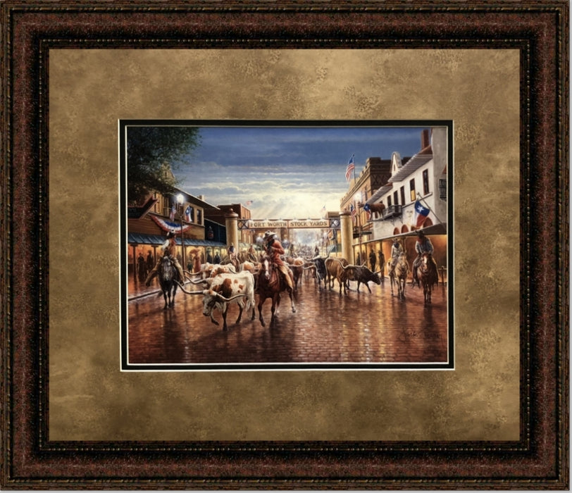 Cowtown | Jack Terry | Wall Art Print | 20X24, 24X30