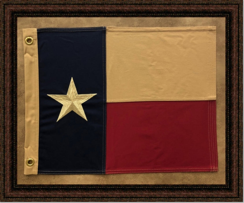 Texas Flag with Grommets