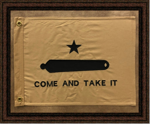 Come and Take it Flag with Grommets