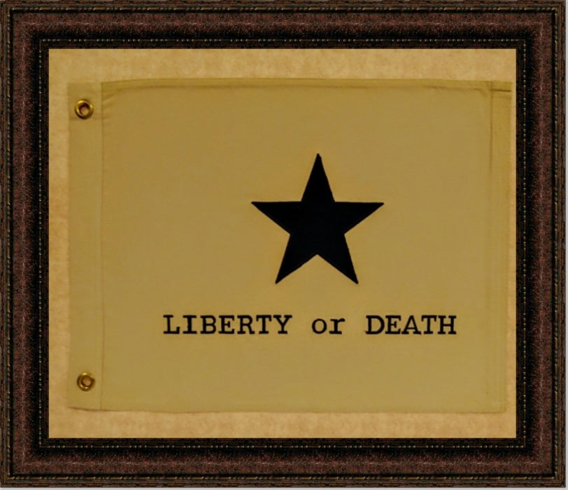Liberty or Death Flag with Grommets