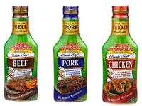 Tony Chachere's Pourable Marinades Variety 3pk