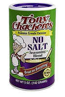 Tony Chachere's No Salt Seasoning 2-5oz cans