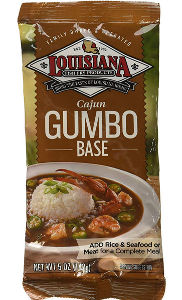 Louisiana Fish Fry Brand Gumbo Base 3pk