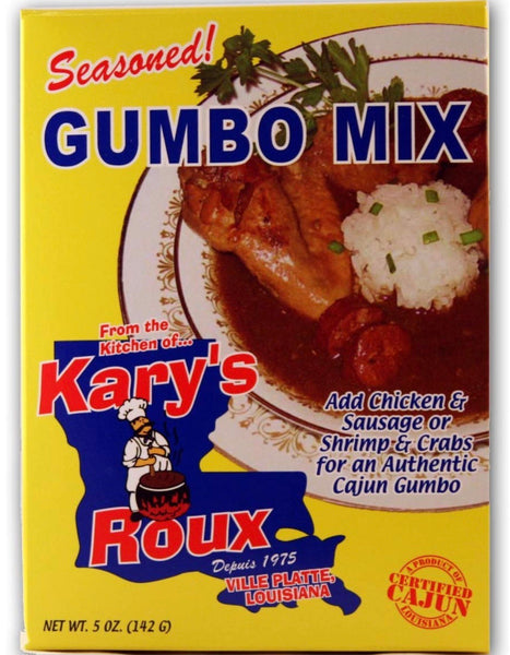 Kary's Gumbo Mix 3 Boxes