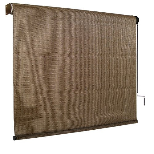 Walnut Roll Down Shade