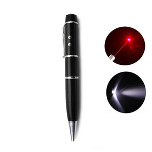Pen Shape Pen Drive - Laser Pointer and Torch