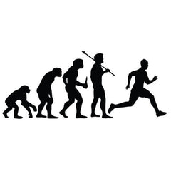 Humans are born to run
