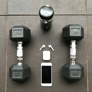 Workout with MVYNO Mpods wireless Bluetooth earphones