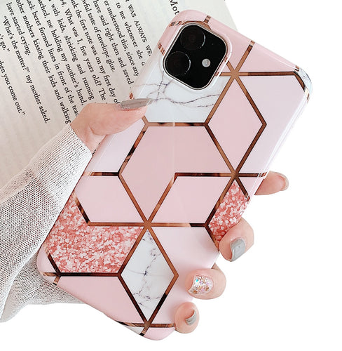 MVYNO iphone bling pink cover case