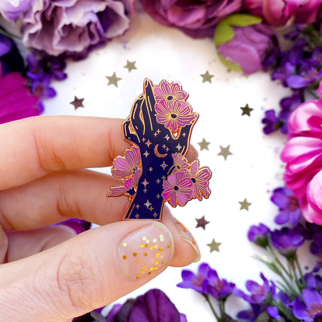 CHILD OF THE COSMOS ENAMEL PIN