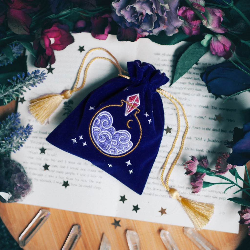 NIGHT SKY POTION BOTTLE TRINKET POUCH
