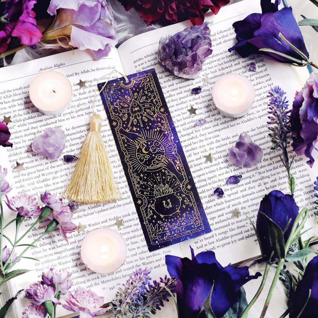 MAGIC TAROT BOOKMARK