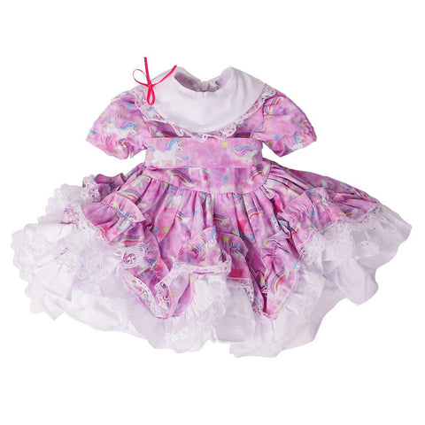 Reborn Baby Doll Dress Outfits Accessories for 24