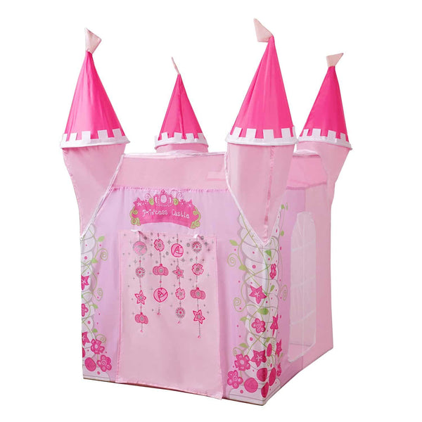 Yesteria Princess Castle Play Tent for Kids - Indoor Pop Up Playhouse Tent for Toddler - Foldable Pretend Play Tent with Carry Bag