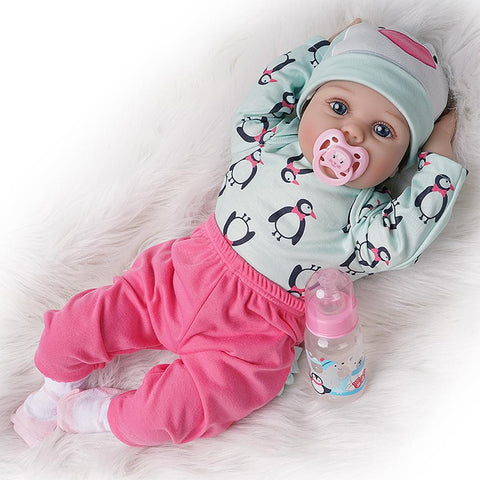 Emma-Lifelike Reborn Baby Doll Girl