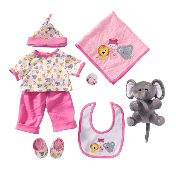 Reborn Baby Doll Outfits Girl Accessories for 20