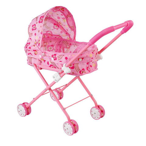 Baby Stroller with Basket Foldable