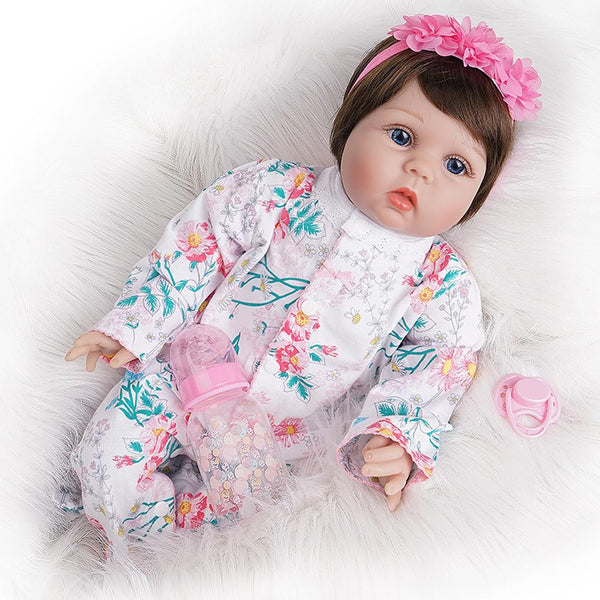 Leah-Lifelike Reborn Baby Doll Girl
