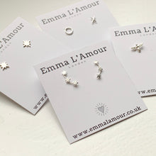 Load image into Gallery viewer, North Star Sterling Silver Earrings - emma-lamour