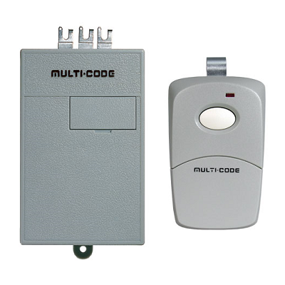Multicode 1011 Radio Receiver And Remote Set
