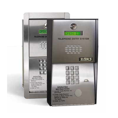 Doorking 1802-082 Classic Telephone Entry System Surface Mounted