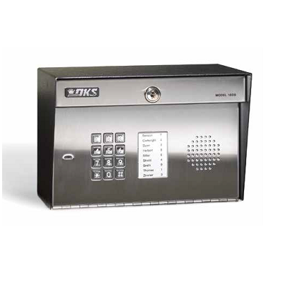 Doorking 1808-082 Telephone Entry System With Paper Directory - shop-gate-openers
