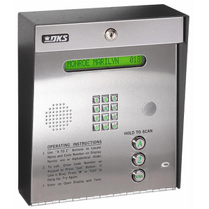 Doorking 1834-080 Telephone Entry System - shop-gate-openers