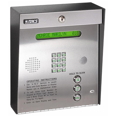 Doorking 1835-080 Telephone Entry System - shop-gate-openers