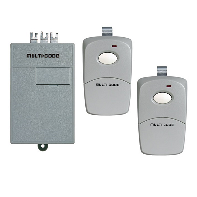 Multicode 2022 Radio Receiver And Remotes Set - shop-gate-openers
