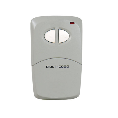Multicode 4120 Two Button Remote Control - shop-gate-openers