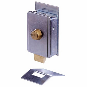 FAAC Single Cylinder Electric Lock | SGO Shop Gate openers