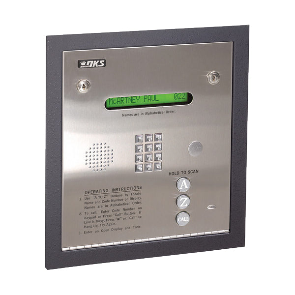 Doorking 1834-084 Telephone Entry System Flush Mount - shop-gate-openers