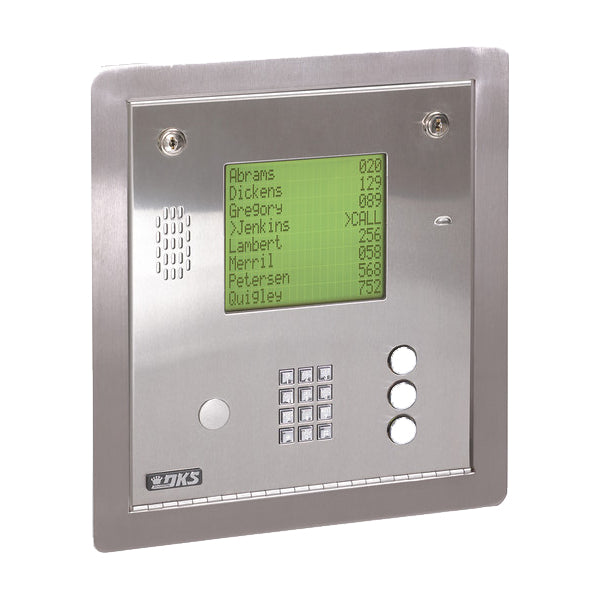 Doorking 1837-084 Telephone Entry System Flush Mount | SGO Shop Gate openers