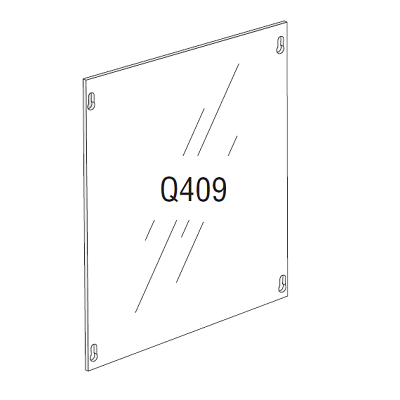 Elite Q409 Access Panel Cover