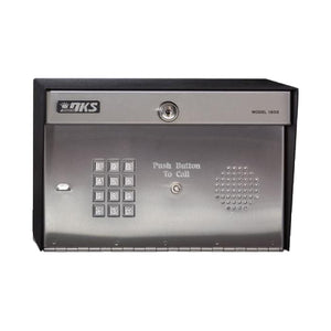 Doorking 1808-084 Telephone Entry System Without Paper Directory - shop-gate-openers