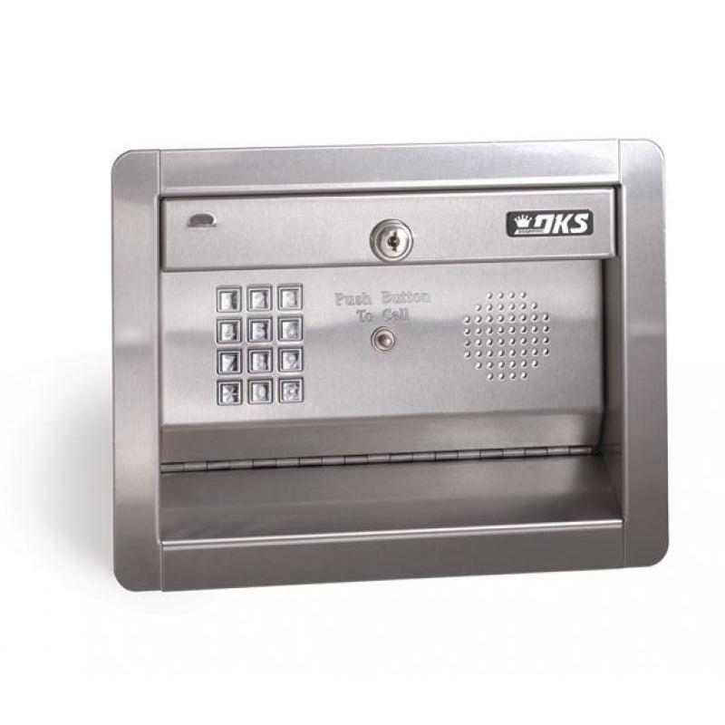 Doorking 1812 Flush Mount Telephone Entry System - shop-gate-openers