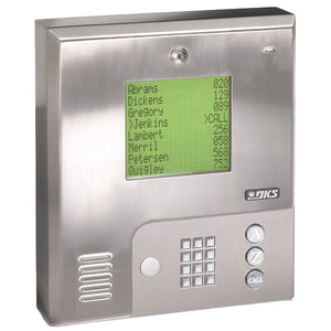 Doorking 1837-089 Telephone Entry System Wall Mount