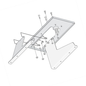 Doorking Pad Mount Kit Model 2600-671