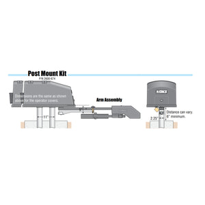 Doorking Post Mount Kit Model 2600-674