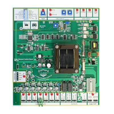 Eagle E555 Diamond Control Board - shop-gate-openers