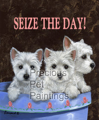 West Highland Terrier Seize the Day-CPL