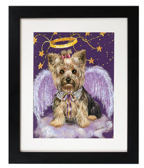 Yorkshire Terrier Purple Angel-FA