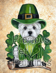 West Highland Terrier Leprechaun-GF