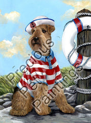 Airedale Terrier The Skipper-CL