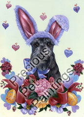 Scottish Terrier Bunny-PZ