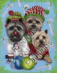 Cairn Terrier Elves-GC