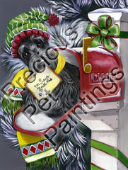 Scottish Terrier Letter for Santa-LF